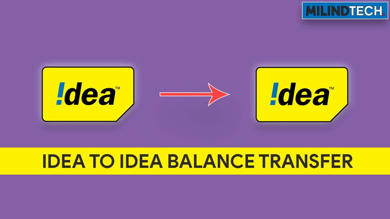 Idea To Idea Balance Transfer